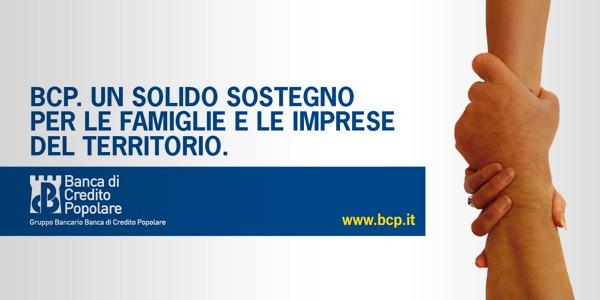 Progettazione campagna pubblicitaria istituzionale di Banca di Credito Popolare