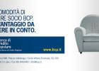 Progettazione campagna pubblicitaria conto soci di Banca di Credito Popolare