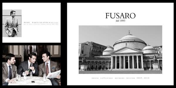 Progettazione grafica del catalogo di moda di Fusaro